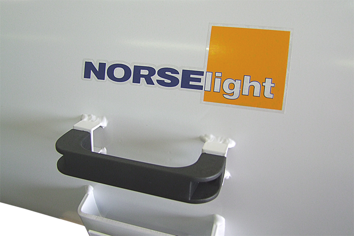 Search Spotlight Marine with rubber housing and deck plug