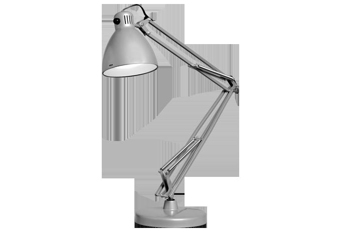 Luxo L-1 LED Schreibtischlampe schwarz dimmbarLampe mit Tischklemme oder Fuß