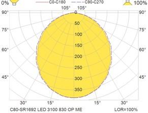 C80-SR1692 LED 3100 830 OP ME