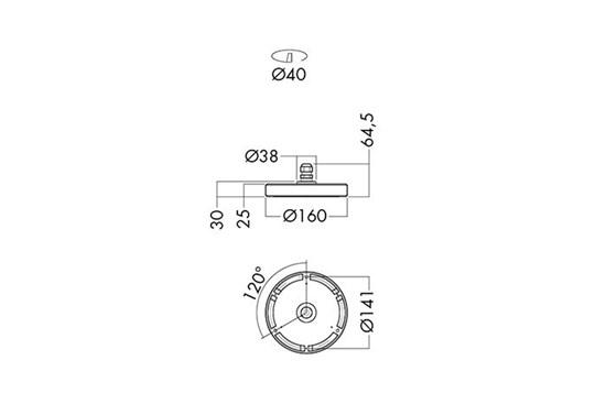 AL60-SC160_measurement_drawing