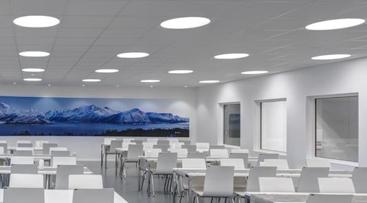 Glamox Belysning for skoler, helseinstitusjoner