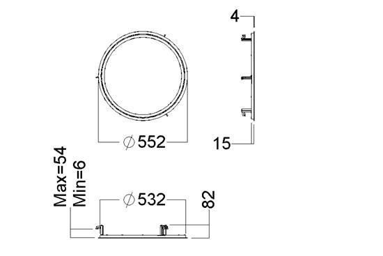 c95-rc-525_measurement drawing