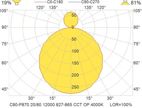 C90-P870 20-80 12000 827-865 CCT OP 4000K