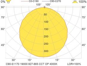 C90-S1170 19000 827-865 CCT OP 4000K