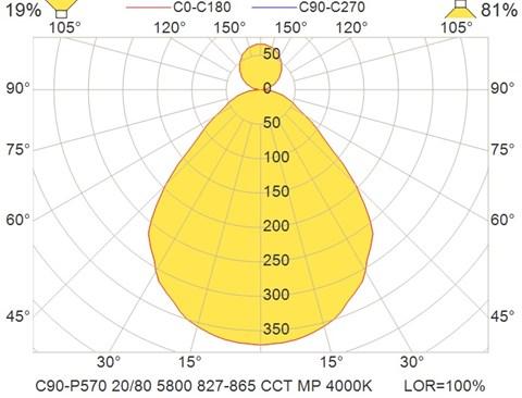 C90-P570 20-80 5800 827-865 CCT MP 4000K