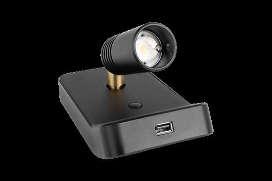 AL60 II BL-BL-BR-BL USB detail